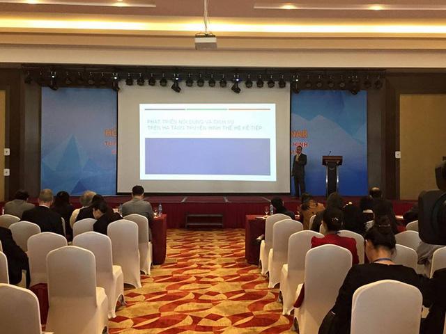Ông Lâm Quang Tùng - Phó Tổng Giám đốc Công ty VTV Live, Tổng Công ty Truyền hình Cáp Việt Nam chia sẻ về tương lai của truyền thông và ngành công nghiệp truyền hình