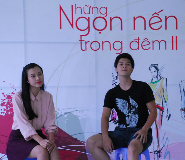 Huỳnh Anh và bạn gái casting Những ngọn nến trong đêm 2