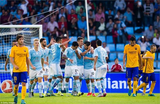 Celta Vigo từng gây bất ngờ khi đánh bại Barca với tỉ số đậm cách đây chưa lâu