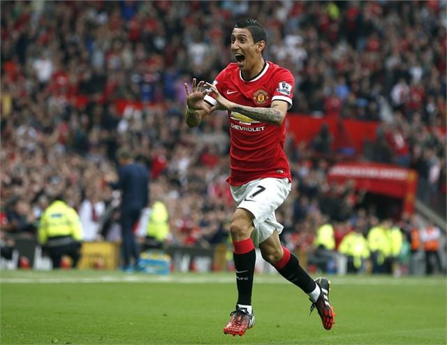 """Các CĐV của Man Utd chờ đợi sự trở lại của """"thiên thần"""" Di Maria"""