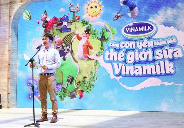 Ông Phan Minh Tiên - Giám đốc điều hành Marketing Vinamilk (Ảnh: Zing)
