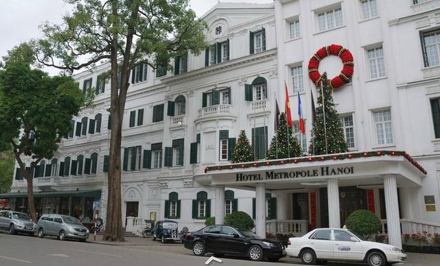 Khách sạn Sofitel Metropole là nơi đón nhiều đoàn khách cấp cao và các doanh nhân quốc tế