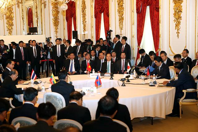 Hội nghị cấp cao Mekong- Nhật Bản lần thứ 7. Ảnh: VGP/Nhật Bắc