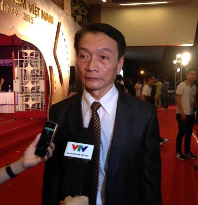 Ông Vũ Xuân Hưng - trưởng ban giám khảo thể loại phim truyện Video và phim điện ảnh của LHP Việt Nam lần thứ 19.
