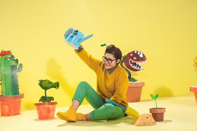Trong MV mới, phần hình ảnh được đầu tư với nhiều màu sắc.