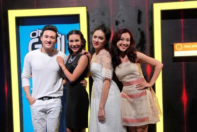 Các khách mời tham gia tập 9 chương trình Ơn giời! Cậu đây rồi! gồm diễn viên Hà Trí Quang, ca sĩ Khánh Ngọc, Hương Giang Idol và MC - Á hậu Hoàng Oanh.