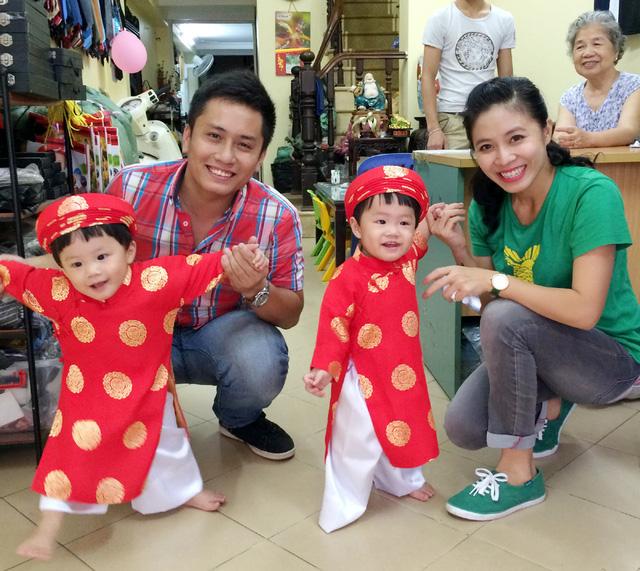 Gia đình MC Hoàng Linh