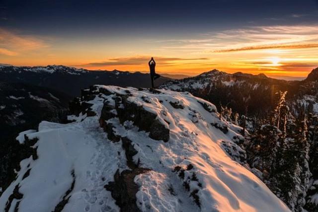 Summit Lake thuộc công viên quốc gia núi Rainier, bang Washington (Mỹ) - Ảnh: Nick Lake.