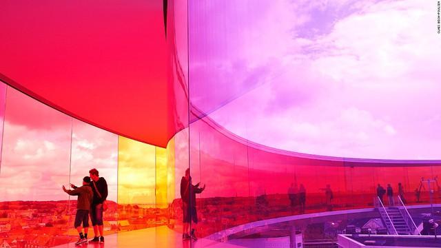 Cầu vồng Panorama tại Bảo tàng nghệ thuật ARoS Aarhus