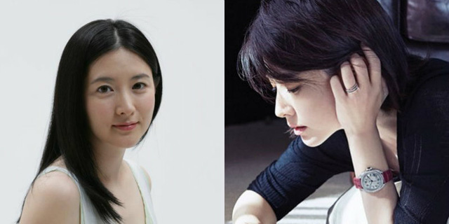 Lee Young Ae long vs short