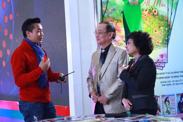 Bữa trưa vui vẻ phát sóng ngày 8/2 có sự xuất hiện của hai khách mời cũng đặc biệt là NSƯT Kim Tuyến và NSƯT Thanh Hùng