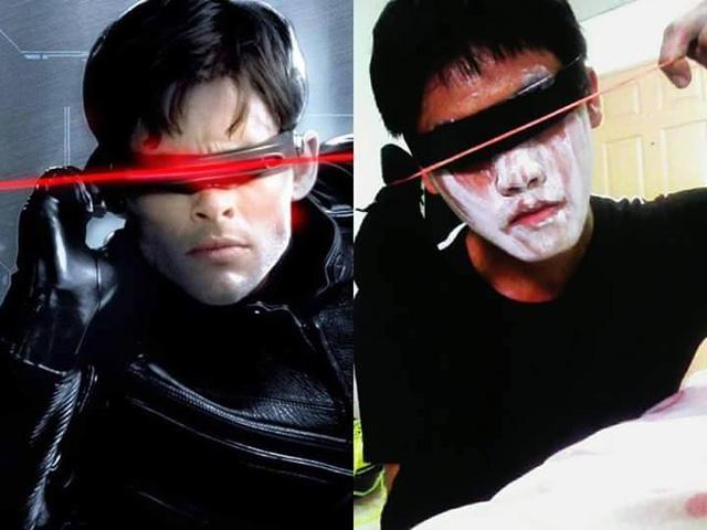 Nhân vật Cyclops trong bộ phim về các dị nhân (X-Men)