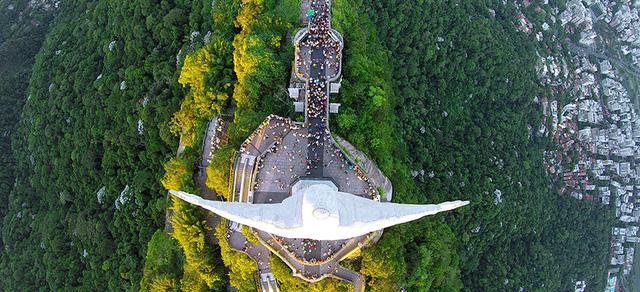 Một góc quang cảnh thành phố Rio De Janeiro ở Brazil