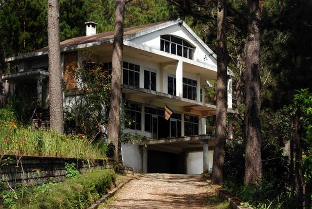 Một ngôi nhà được cho là có ma ở Đà Lạt. (Ảnh: tuoitretour.com.vn)