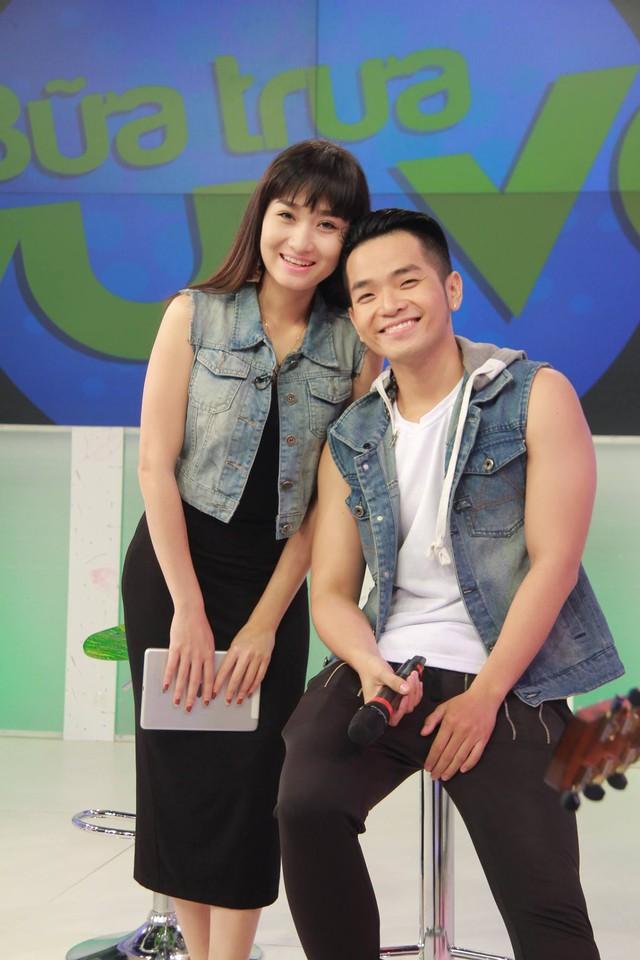 Phạm Hồng Phước và MC Thanh Huyền