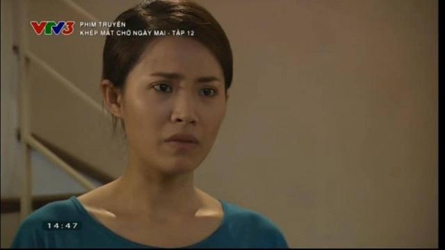 Quỳnh Hoa trong phim Khép mắt chờ ngày mai