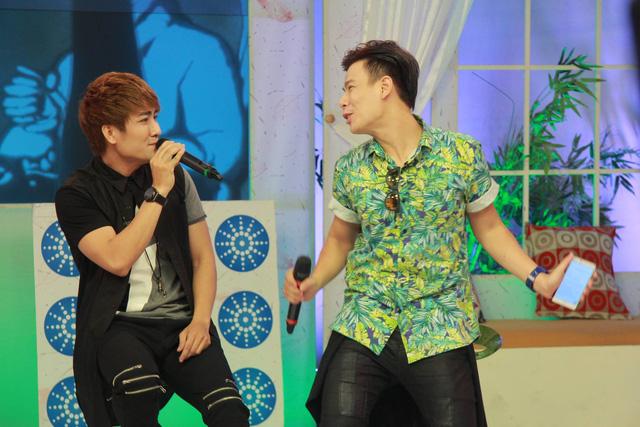 Hai khách mời Anh Huy và Huy Nam