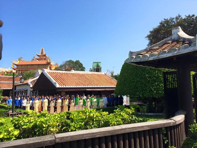 Một cảnh quay tại trường Dục Thanh, Phan Thiết