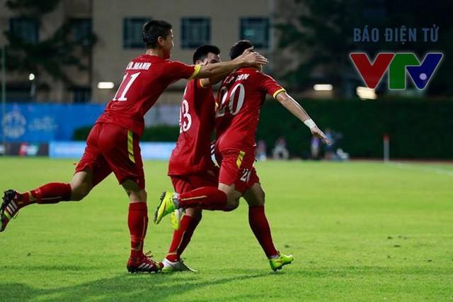 U23 Việt Nam đang có tinh thần thoải mái và không còn trường hợp nào dính chấn thương. (Ảnh: Minh Nguyễn (VTV News)