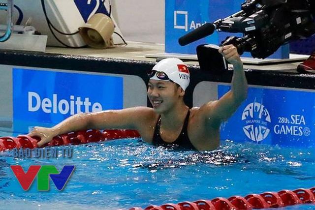 Ánh Viên phá tới 8 kỷ lục SEA Games tại kỳ đại hội lần thứ 28 trước khi giành được những thành tích ấn tượng tại các giải đấu quốc tế sau đó (Ảnh: Minh Nguyễn/VTV News)