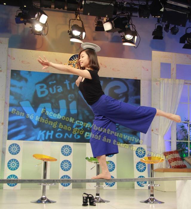Bức ảnh 5 giây của Hà Thanh trong chương trình