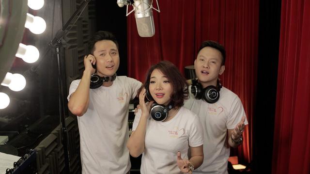 MC Anh Tuấn, Diễm Quỳnh tham gia ghi hình MV Trái tim cho em - Ảnh 6.