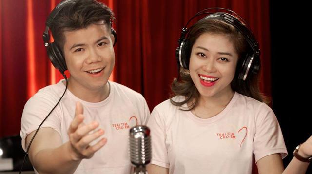 Ca sĩ Đinh Mạnh Ninh và Hồng Ngọc
