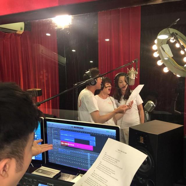 MC Anh Tuấn, Diễm Quỳnh tham gia ghi hình MV Trái tim cho em - Ảnh 10.