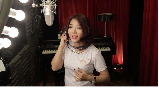 MC Anh Tuấn, Diễm Quỳnh tham gia ghi hình MV Trái tim cho em - Ảnh 5.