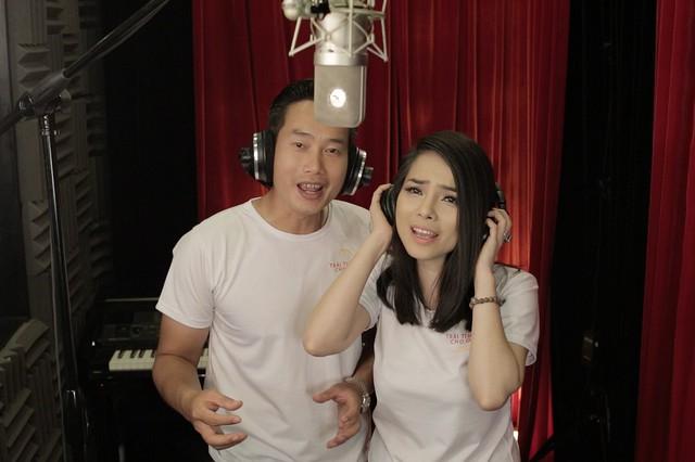 MC Anh Tuấn, Diễm Quỳnh tham gia ghi hình MV Trái tim cho em - Ảnh 4.