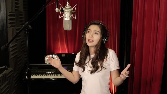 MC Anh Tuấn, Diễm Quỳnh tham gia ghi hình MV Trái tim cho em - Ảnh 8.