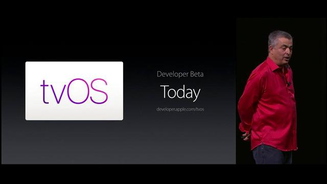 Phiên bản thử nghiệm của tvOS sẽ được Apple chính thức phát hành ngay từ ngày hôm nay