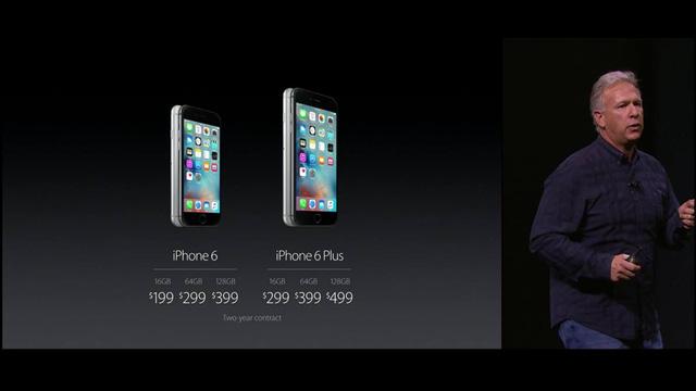Apple công bố giá bán của bộ đôi iPhone mới