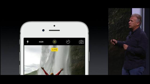 Người dùng có thể tự tạo hình nền động với tính năng Live Photos