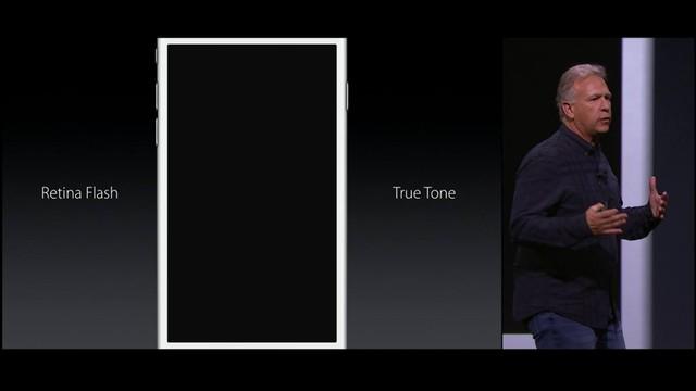 Tính năng Retina Flash cho phép màn hình phát sáng thay thế cho đèn Flash ở mặt trước