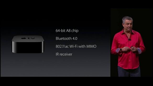 Thông số chi tiết về Apple TV mới