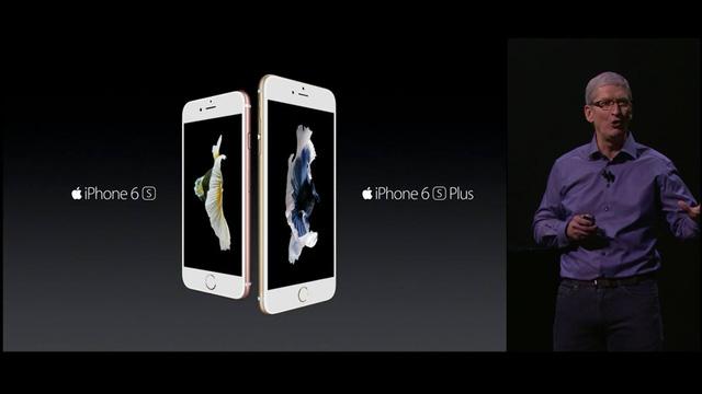 Apple chính thức trình làng iPhone 6S và iPhone 6S Plus