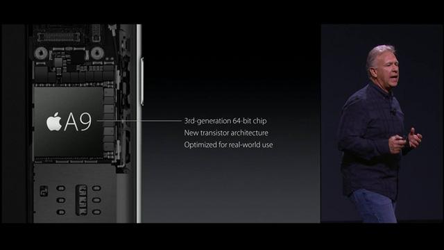 Chip A9 thế hệ mới của Apple có sức mạnh vượt trội hơn hẳn so với phiên bản chip A8