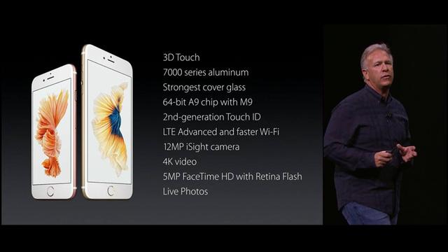 Thông số chi tiết về bộ đôi iPhone mới