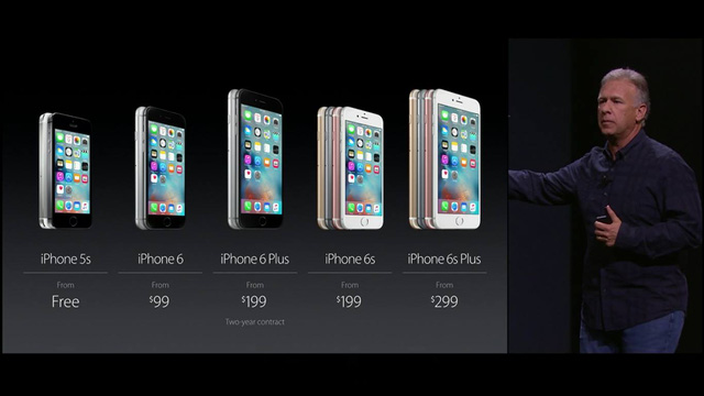 Apple công bố mức giá khởi điểm của dòng iPhone