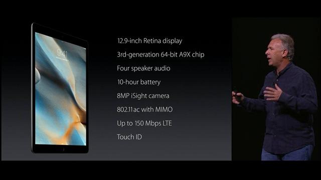 Thông số chi tiết của iPad Pro