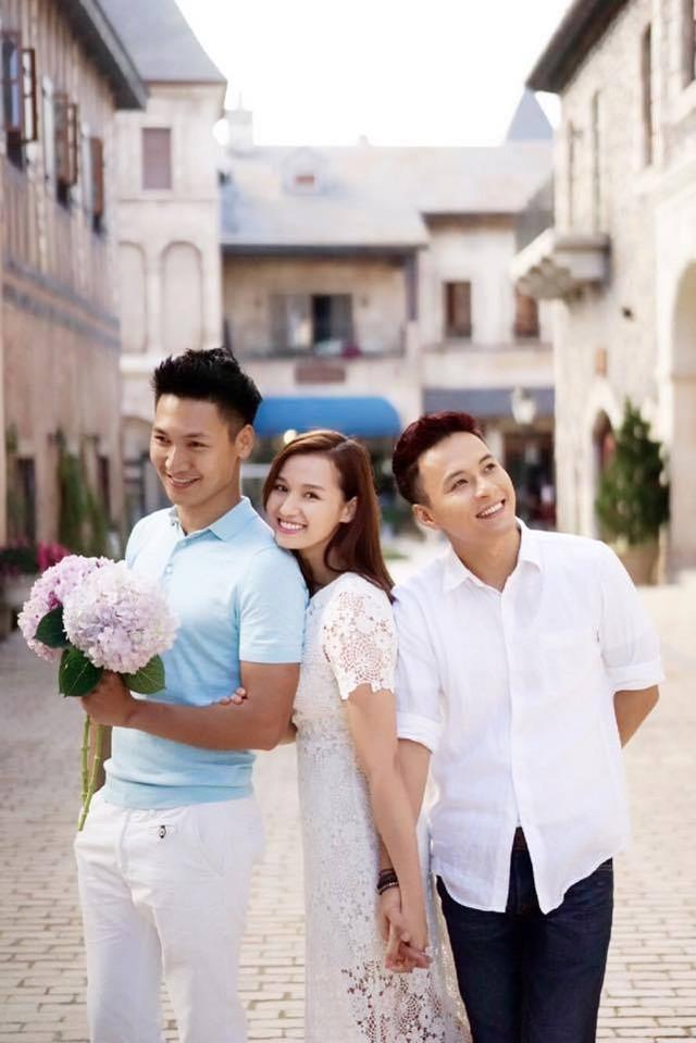 Diễn viên Mạnh Trường, Lã Thanh Huyền và Hồng Đăng.