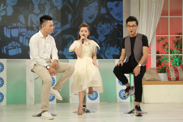 Đăng Quang và Hạ Vy cùng tham gia chương trình Bữa trưa vui vẻ