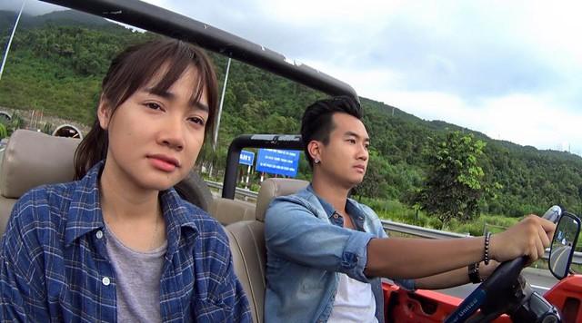Nhã Phương và Phạm Anh Tuấn.