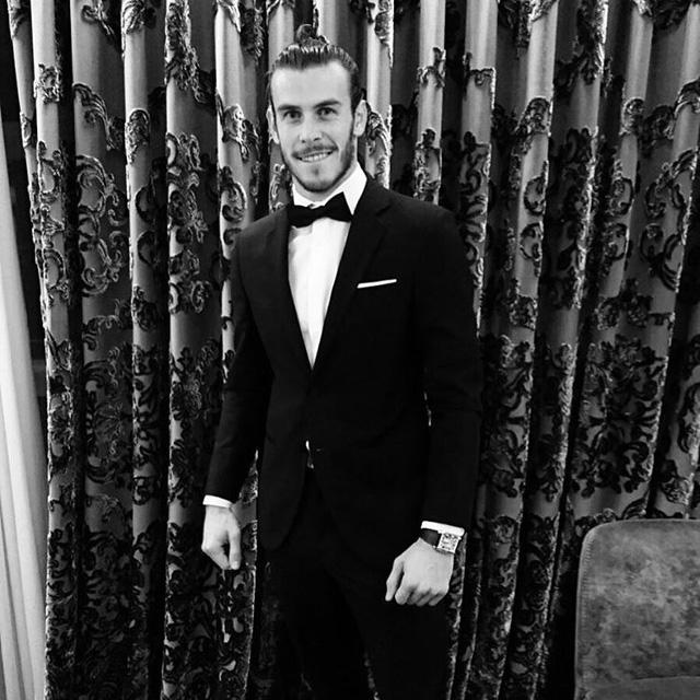 Sau buổi công chiếu, Gareth Bale lập tức khoe ảnh trên Instagram