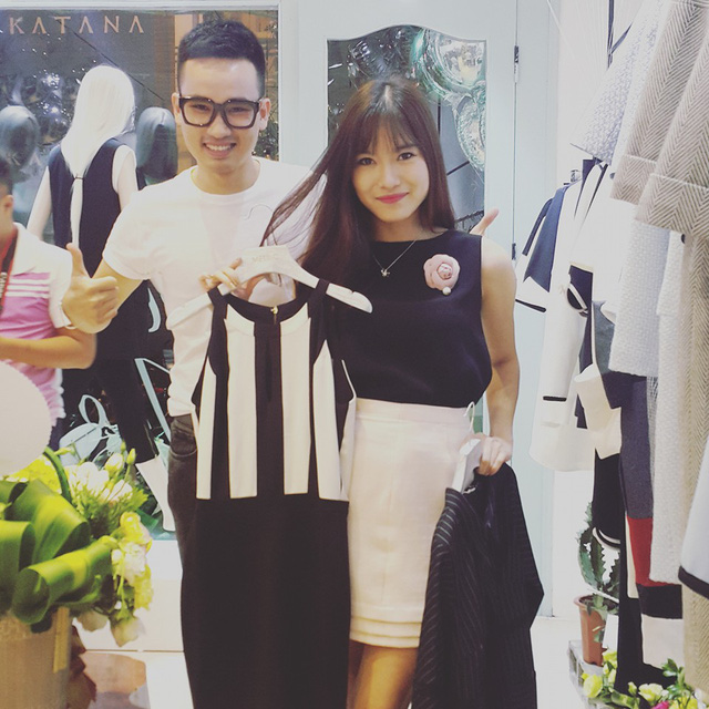 Mai Trang rất yêu thích và thường xuyên diện các trang phục của NTK Hà Duy.