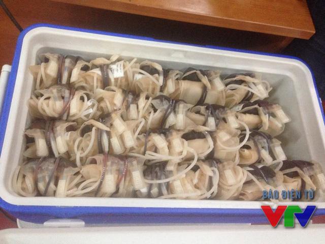 Những túi máu quý giá được dành tặng các bệnh nhân mắc các bệnh về máu trên địa bàn Hà Nội.