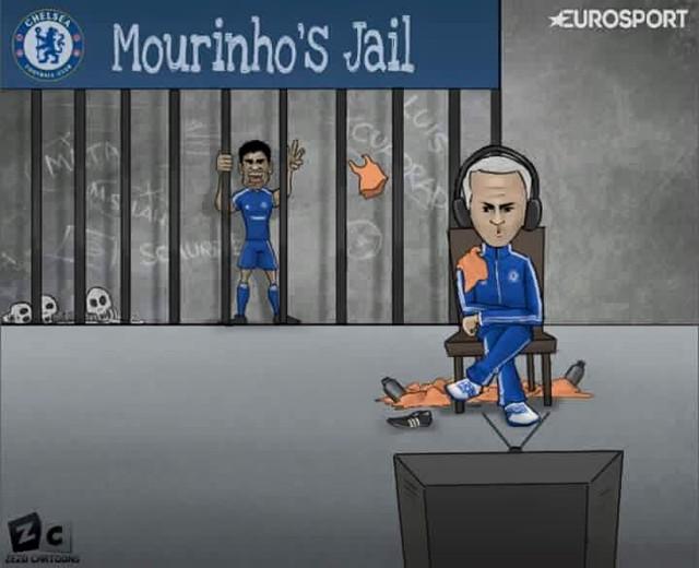 Với tình trạng này, Costa sẽ tiếp tục bị HLV Mourinho giam cầm trong thời gian tới