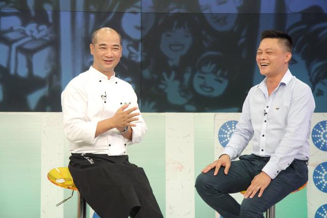 Trong cuộc trò chuyện tại nhà hàng Bữa trưa vui vẻ hôm nay (24/11), Phạm Tuấn Hải đã có những chia sẻ chân thành về cuộc sống riêng cũng như vị trí giám khảo của Vua đầu bếp 2015.