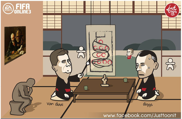 Người kế nhiệm Van Gaal trong tương lai là Ryan Giggs đang bối rối trước triết lý của chiến lược gia người Hà Lan. Với chiến thuật mới, Rooney vẫn đang lạc lối không rõ vai trò của mình